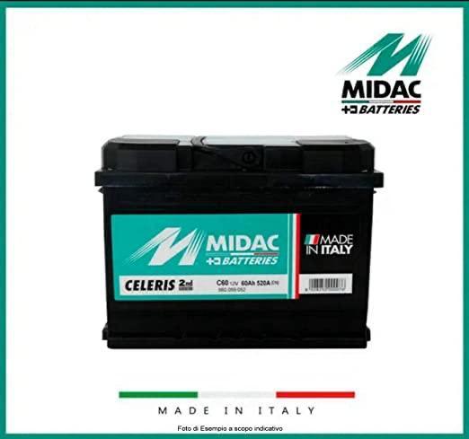 batteria midac